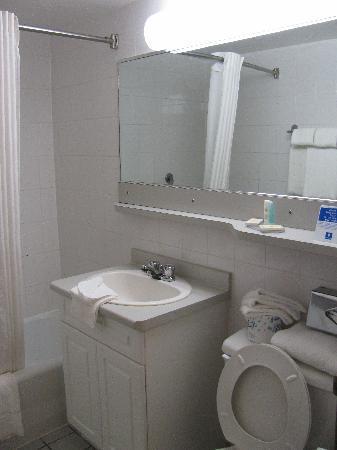 Comfort Inn Clifton Hill - Niagara Falls Hotel: Bath