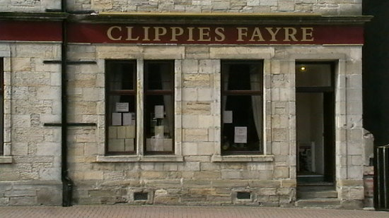 Clippies Fayre: The front of our restaurant