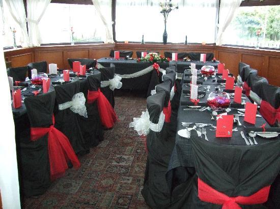 Clippies Fayre: Conservatory Dining Area