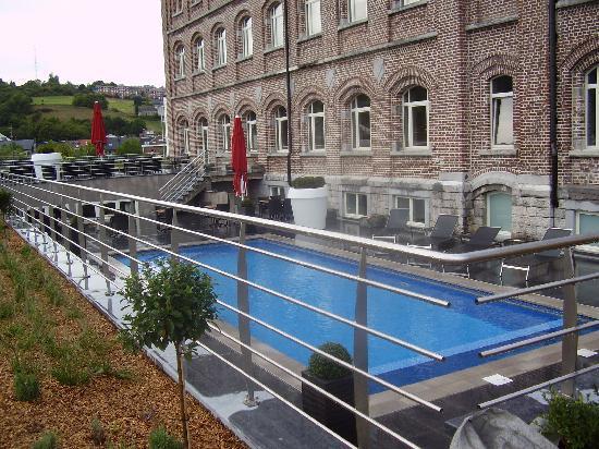 Verviers, Belgique : vue hotel