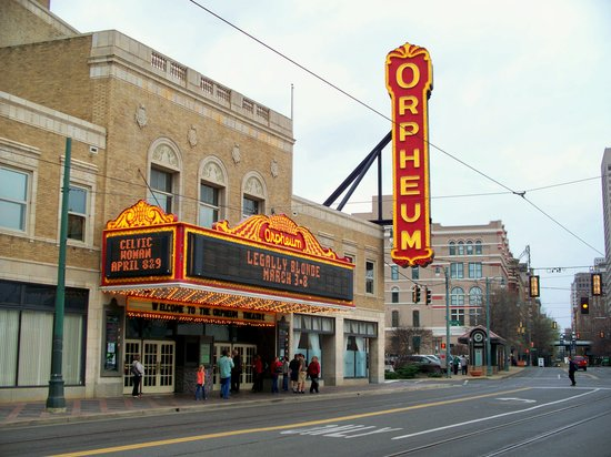 Photo of Performing Arts Venue Orpheum Theatre at 203 S Main St, Memphis, TN 38103, United States