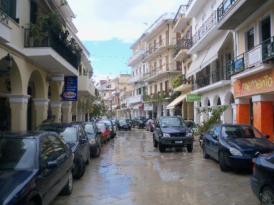 Tsilivi, Greece: Zante town after the rain