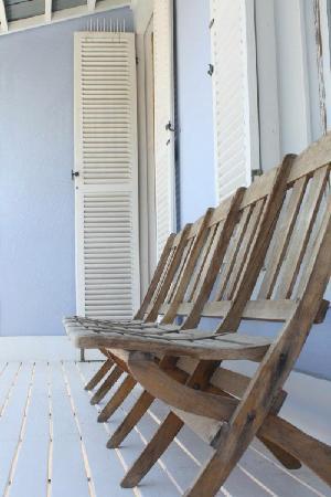 Six on Scott: Balkon
