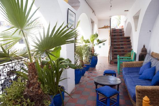 Riad Chouia Chouia: patio terrasse