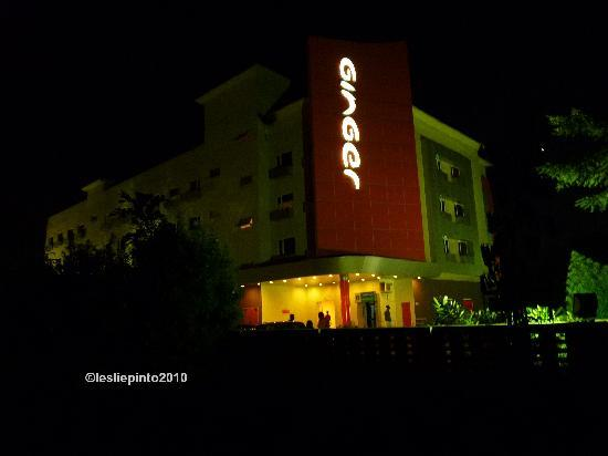 Ginger Nashik: View of the hotel