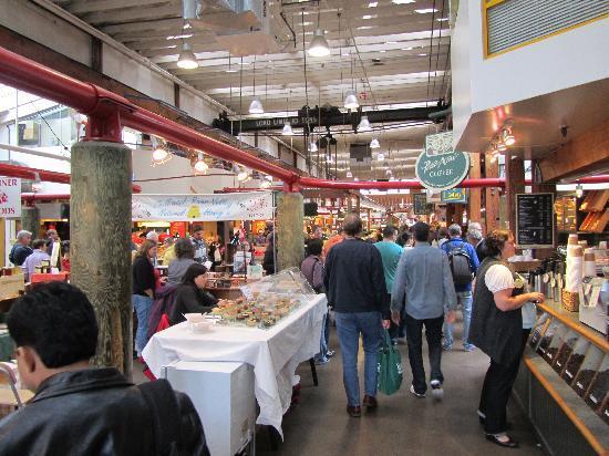 Vancouver, Kanada: Granville Island Market