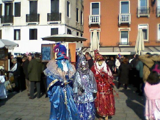 Hotel Portofino: venice carnival