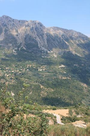 Nidri, Grekland: On the road from Vasiliki to Porto Katsiki