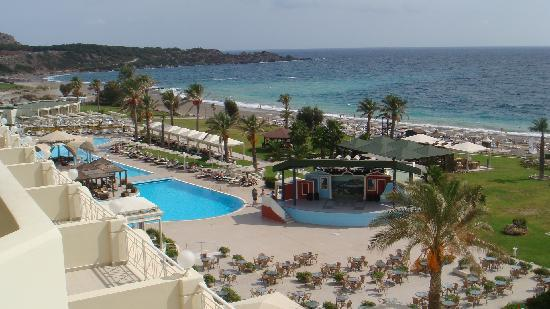 Rodos Palladium : View from our balcony