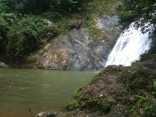 Maravilla Guesthouse: Waterfalls at Salto Curet (our 1st Margo adventure)