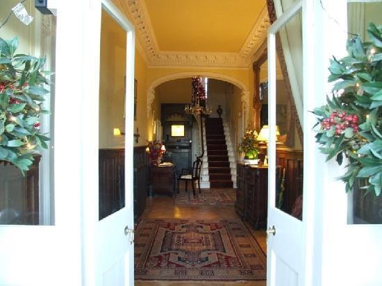 Entrance to Castle House B&B