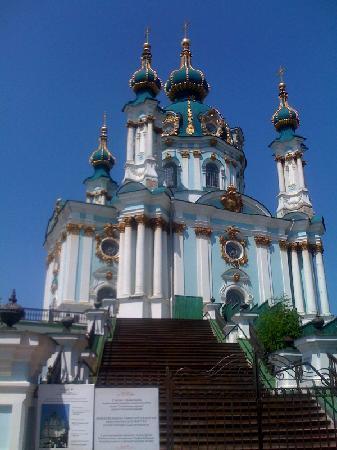 Opera Hotel: St. Andrew's Church in Kyiv