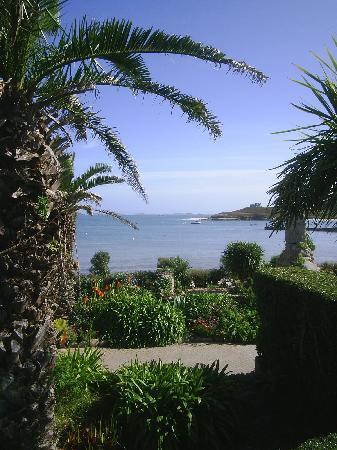 Tresco, UK: VIEW FROM OUR BEDROOM