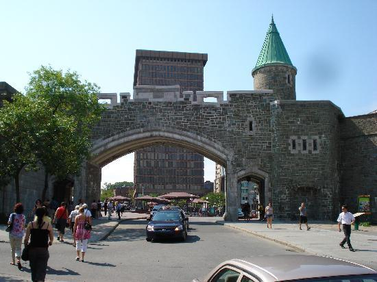 Quebec City, Canada: The gates of Old Quebec
