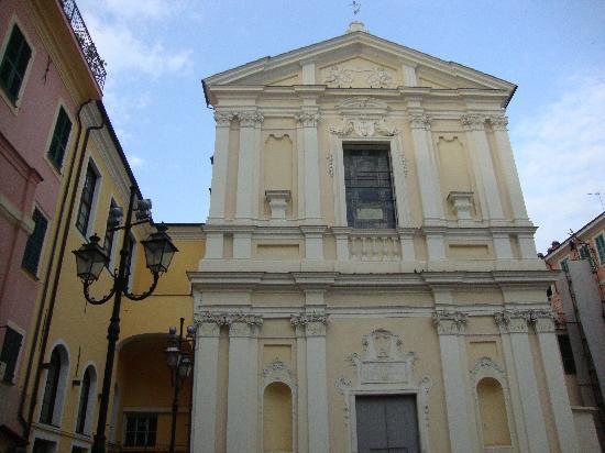Sanremo, Italy: Church in Old town