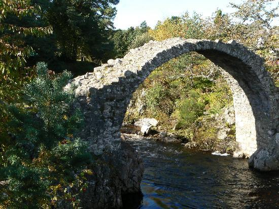 "Nethybridge Hotel: ""Coffin"" Bridge at Carrbridge"