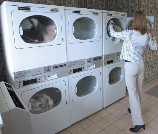 InTown Suites Highway 290 : Each location offers a coin-op guest laundry.
