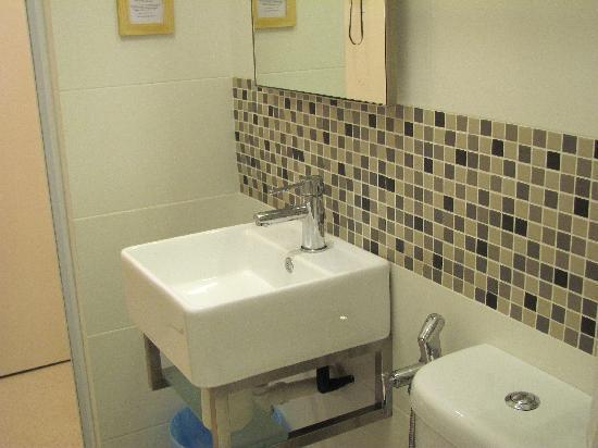 View of the bathroom basin, Single Room
