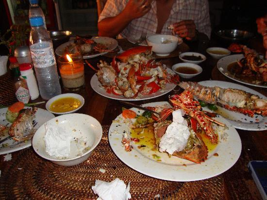 Boracay, Filipinler: Under $20 Crab and Lobster Dinner