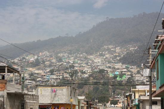 "San Cristobal de las Casas, Mexico: Looking up at the neighborhood of ""La Ormiga"""