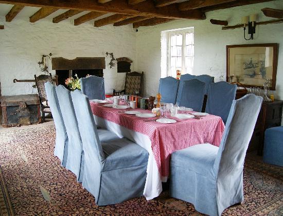 Castle Farm B&B: Dining Room