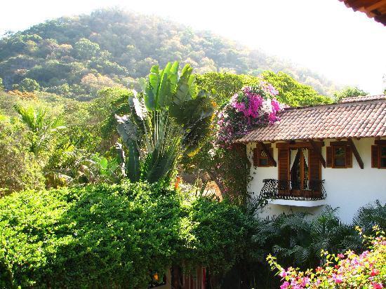 Hacienda Eden: Inner courtyard