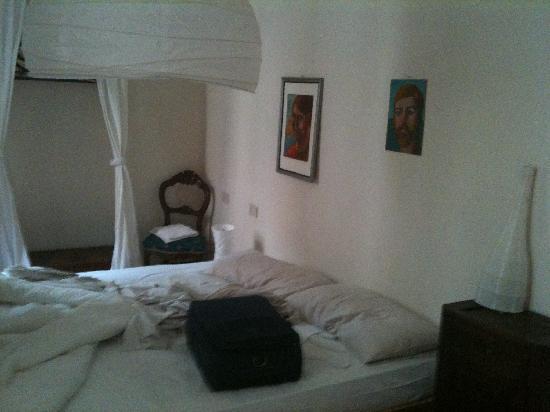 Ca' Zora: camera da letto