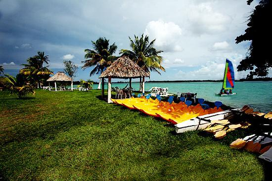 Chetumal, Mexico: Laguna Milagros Retreat