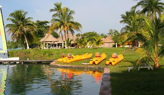 Chetumal, Meksika: Laguna Milagros
