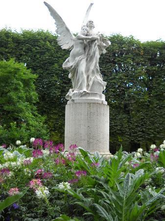 Parijs, Frankrijk: Luxemborg Gardens, Paris