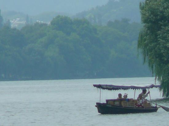 Shanghai, China: River near Shangai