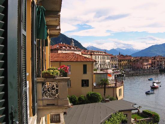 Menaggio balcony view