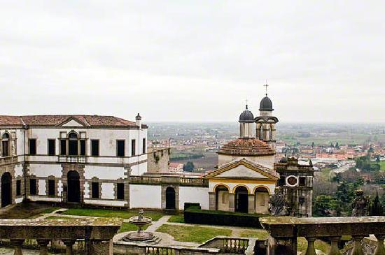 view of Monselice from Sette Chiese