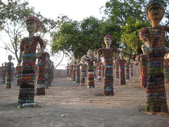 Chandigarh, Indien: bracelet figures