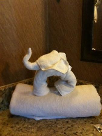 Holiday Inn St. Paul-I94-East (3M Area): Our visiting Elephant!