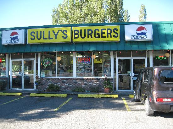 Forks, Waszyngton: Sully Burgers Home of the Bella Burger