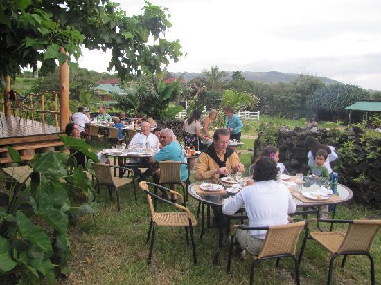 Pikera Uri Eco Lodge: jantar de despidida