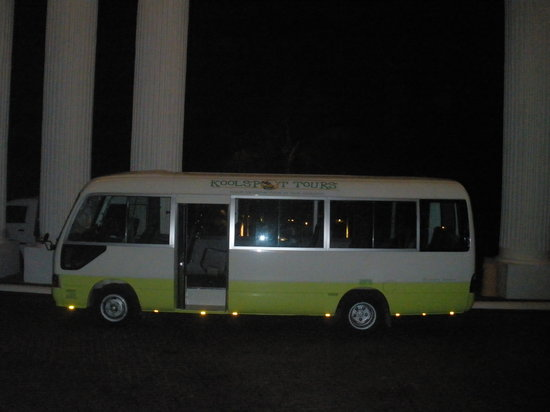 Koolspot Private Tours: This is a 28 seater luxry bus