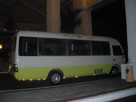 Koolspot Private Tours: This bus is fully AC and high quality music