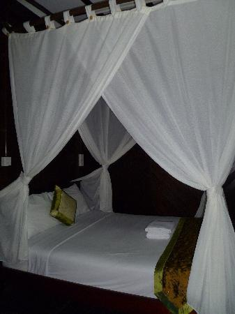 D-Paradise Park and Resort: nice cozy bed