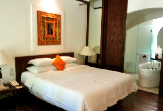 Novotel Bali Benoa: Bedroom in Tropical Terrace