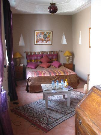 Riad Hadika Maria : Our room