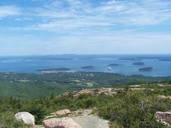 Cadillac Mountain: from top of the mountain
