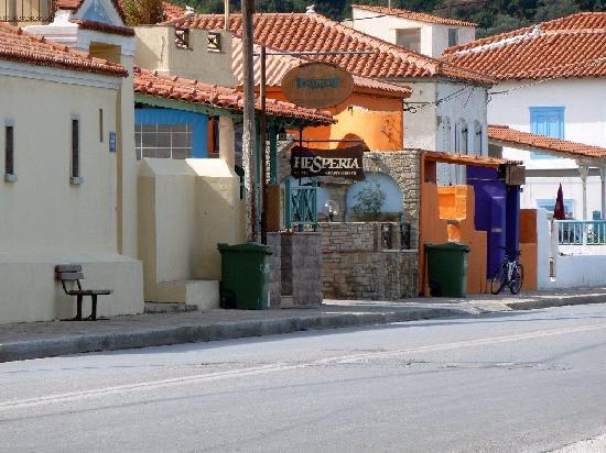 Hesperia Hotel: Voorzijde 2