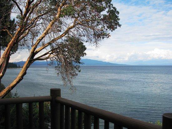 Tigh-Na-Mara Resort: View from balcony - tide in