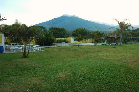 Bagaces, Costa Rica: views of the volcan from the Complex