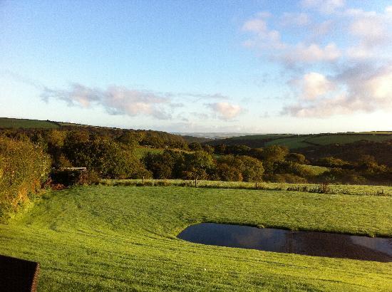 Treworgie Barton: View