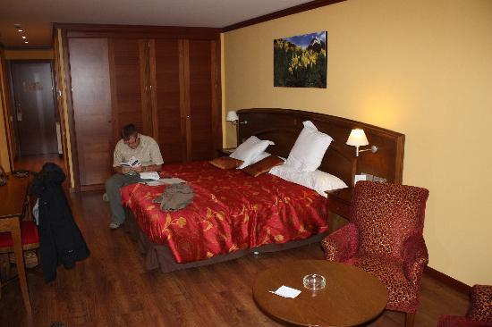 Hotel Parador Canaro : the room