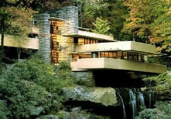 Милл-Ран, Пенсильвания: Fallingwater House