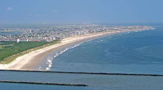 Aqua Beach Resort: Wildwood Crest Island Pic.